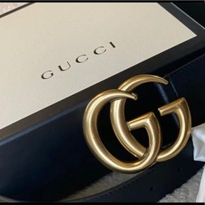 Authentic Gucci belt with USA receipt